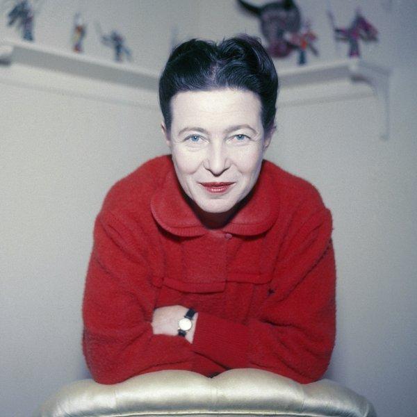 de beauvoir, 1955.